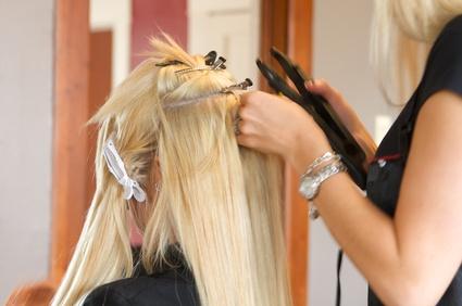 Haar Extensions eine Möglichkeit der Haarverdichtung